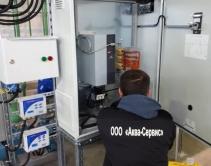 Монтаж системы автоматики станции гидравлического испытания