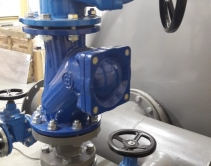 Запорно-регулирующая арматура насосной станции оборотного водоснабжения