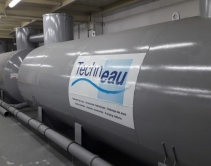 Обвязка трубопроводами системы водоочистки