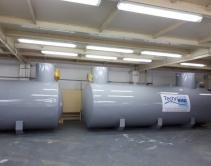 Расстановка системы водоочистки в помещении