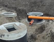 Монтаж системы ливневой канализации