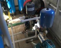 Монтаж и ПНР водоповысительной установки Calpeda