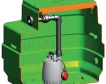 фото автоматической установки отвода стоков