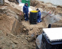 Очистные сооружения хоз.-бытовых стоков производительностью 30 м3/сутки г. Нестеров