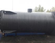 КНС хоз-бытовых стоков с интегрированным бетонным пригрузом