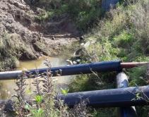 Прочистка ранее проложенного напорного трубопровода