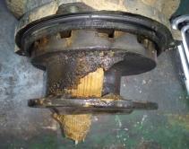 Возможная причина разрушения рабочего колеса на канализ. насосе