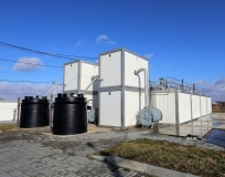 Станция биологической очистки сточных вод  г. Багратионовск производительность 2640 м3/сутки