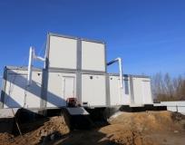 Станция биологической очистки сточных вод г. Славск производительность 1000 м3/сутки
