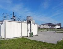 Станция биологической очистки сточных вод Кардиоцентр пос. Родники производительность 210 м3/сутки