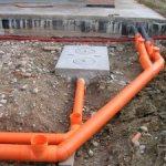 монтаж канализации - проведение работ