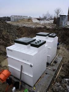 система очистки сточных вод Топаэро - монтаж