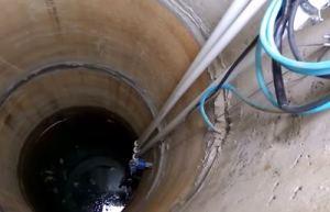 вода из колодца - монтаж