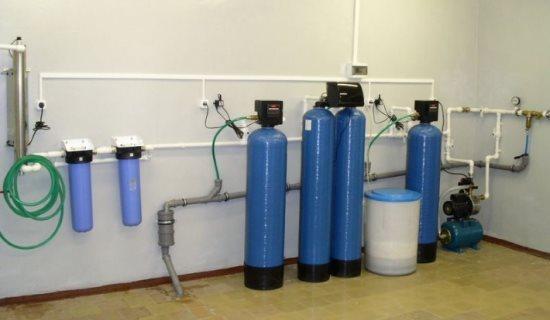 Установка умягчения воды